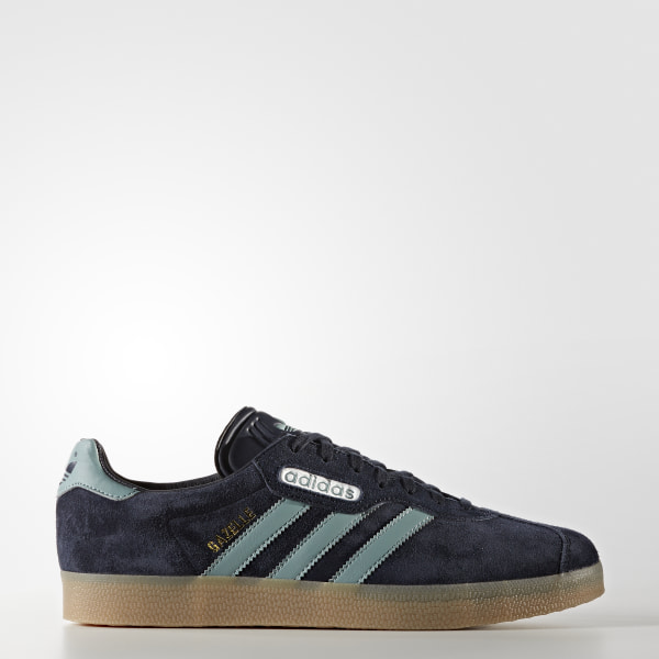 adidas Men's Gazelle Super Shoes Blue | adidas Canada
