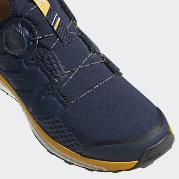 Men Adidas Navycollegiate Gold Shoes Terrex Boa Navyactive