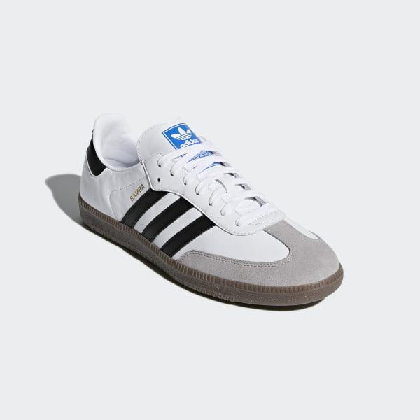 Sneakers Uomo Adidas Samba Adv Bianco Blu | Outlet