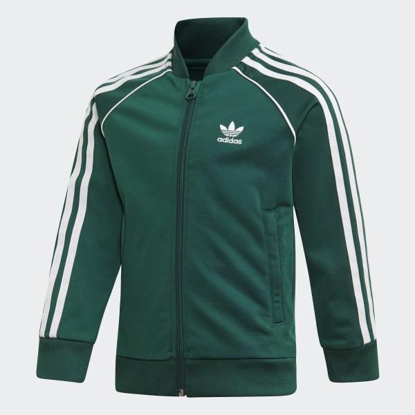 adidas Originals SST Track Jacket collegiate green
