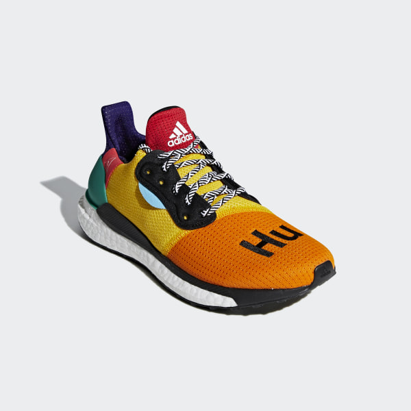 official photos premium selection aliexpress adidas Pharrell Williams x adidas Solar Hu Glide ST Shoes - White ...