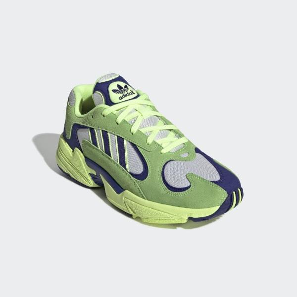 Volle Farben Adidas 'Limette' Deerupt Runner Trainers