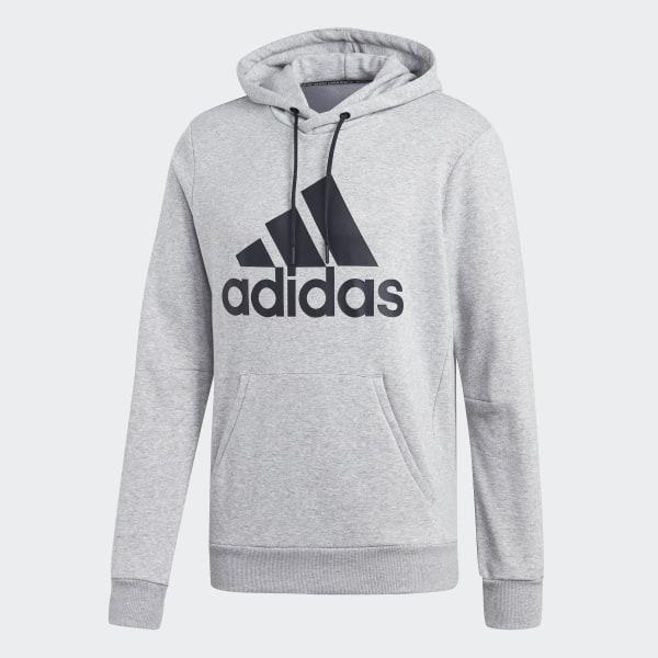 adidas Must Haves Badge of Sport Hoodie Grey | adidas US