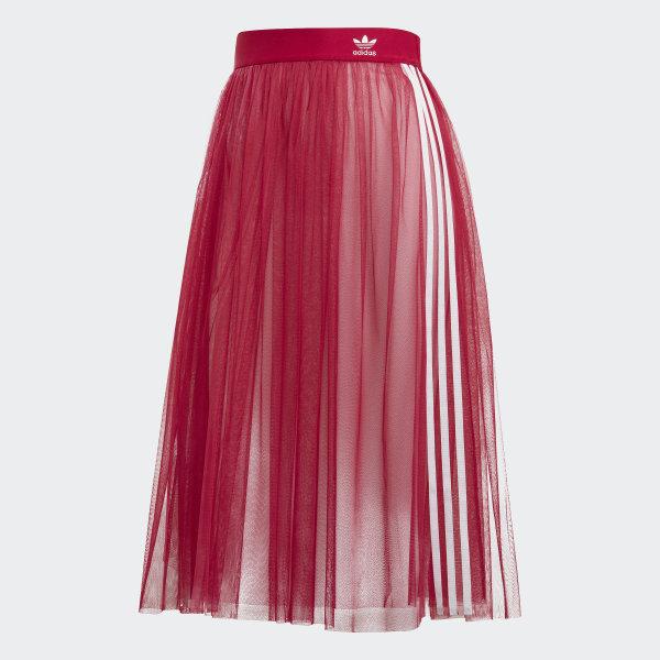 adidas Originals Tulle Skirt dark pink