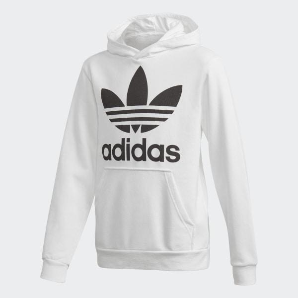 adidas schuhe männer Adidas Trefoil Hoodie Herren Weiß