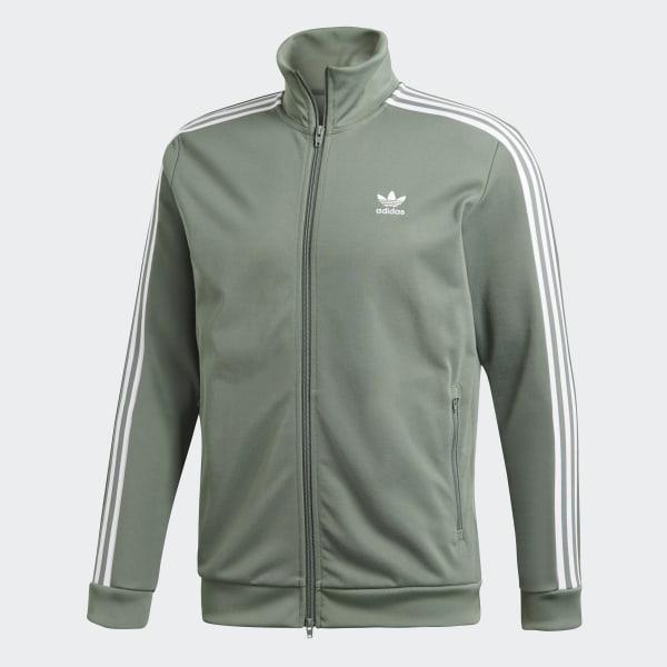 adidas Originals Beckenbauer Trainingsjack in groen DH5820