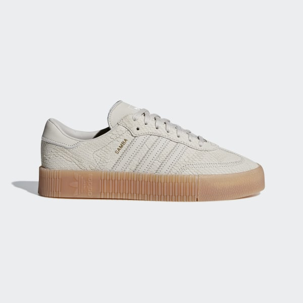 Tan Samba Rose Sneakers