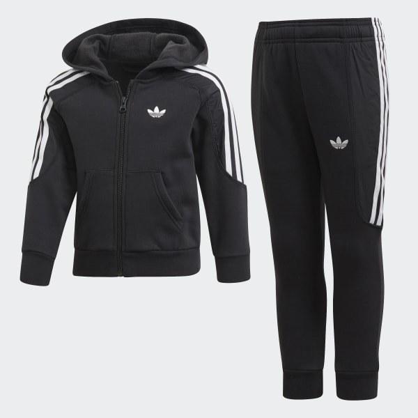 Radkin Hoodie Men's Adidas Originals Hoodies Clothing Black