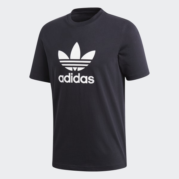 adidas Trefoil T Shirt Blau | adidas Austria