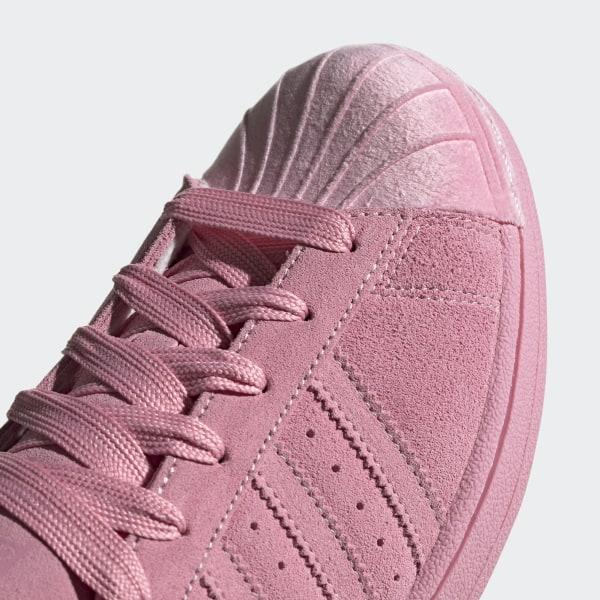 adidas superstar pink velvet