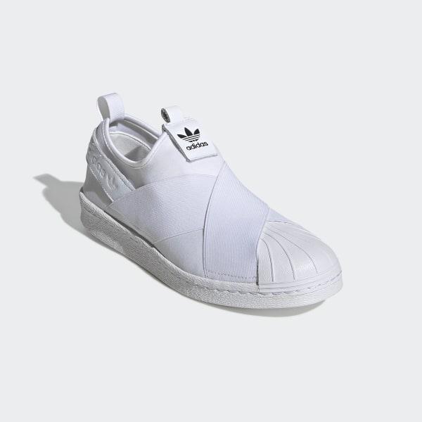 Adidas Superstar Slip On in Black | Zapatos tenis para mujer