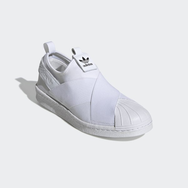 2015 adidas Superstar Slip On White Mono adidas Shoes Sale  adidas US