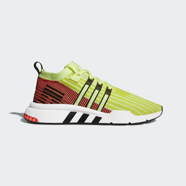 adidas EQT Support Mid ADV Primeknit Shoes Yellow | adidas New Zealand