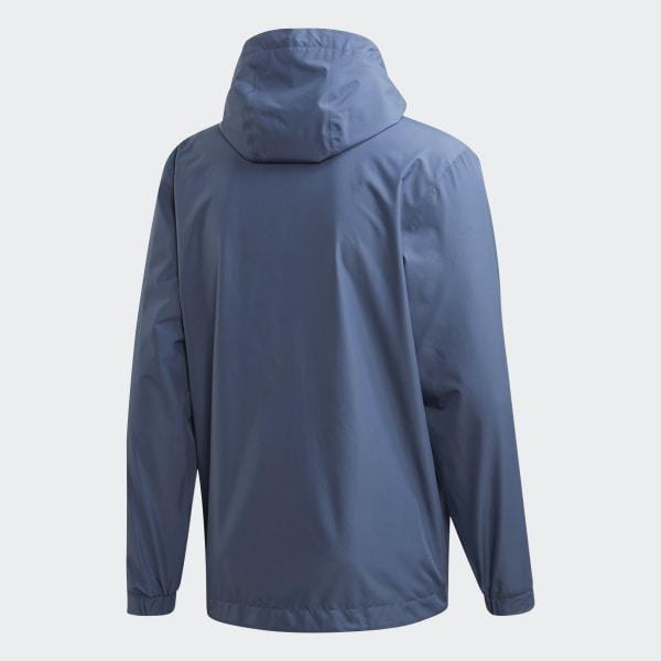 adidas Climaproof Rain Jacket - Blue | adidas US