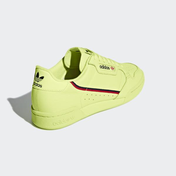 adidas Continental 80 Shoes Yellow | adidas US