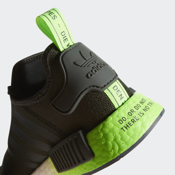 adidas Originals Rubber X Star Wars Nmd_r1 in Green for Men