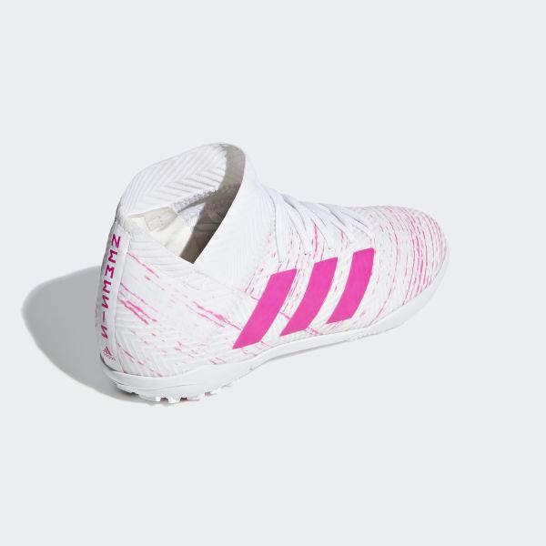 adidas Calzado de fútbol Nemeziz Tango 18.3 Turf Blanco | adidas Mexico