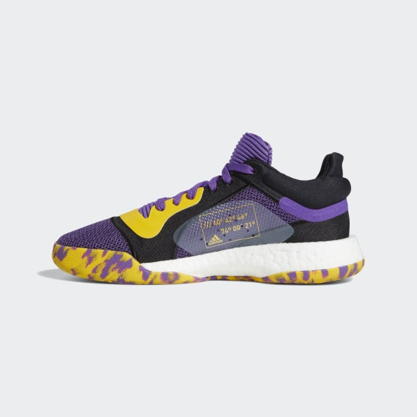 adidas Marquee Boost Low Shoes Purple | adidas US
