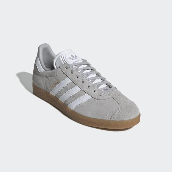 adidas adidas originals gazelle w Grey TwoWhiteWhite