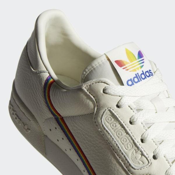 Chaussure Continental 80 Pride - Blanc adidas | adidas France