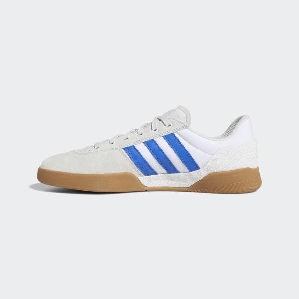 Adidas City Cup Shoes Crystal White Blue Gum4 | Flatspot