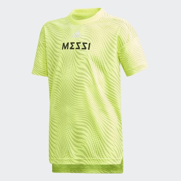 adidas Herren Fußball Messi Tee, Herren, Messi Tee Weiß