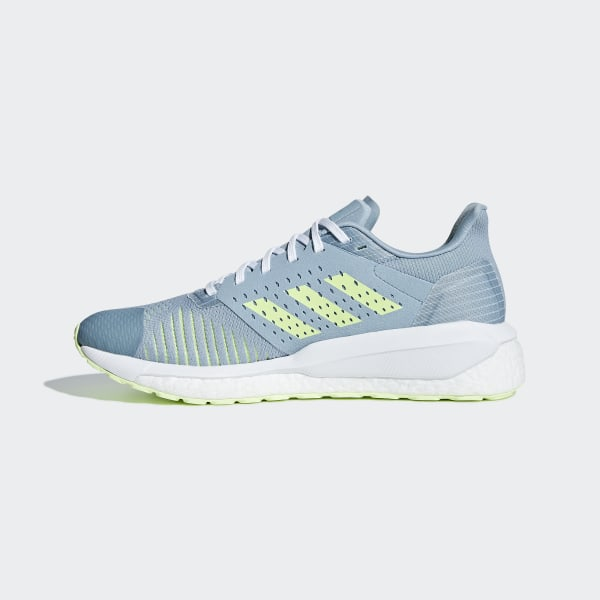 adidas Solar Drive ST Boost Mens Running Shoes Blue