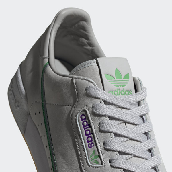 Details about New BOYS ADIDAS GRAY ORIGINALS X TFL CONTINENTAL 80 SUEDE Sneakers Retro