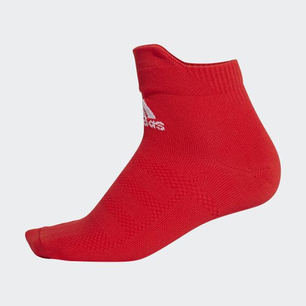 adidas Alphaskin Ultralight Ankle Socks Red | adidas UK