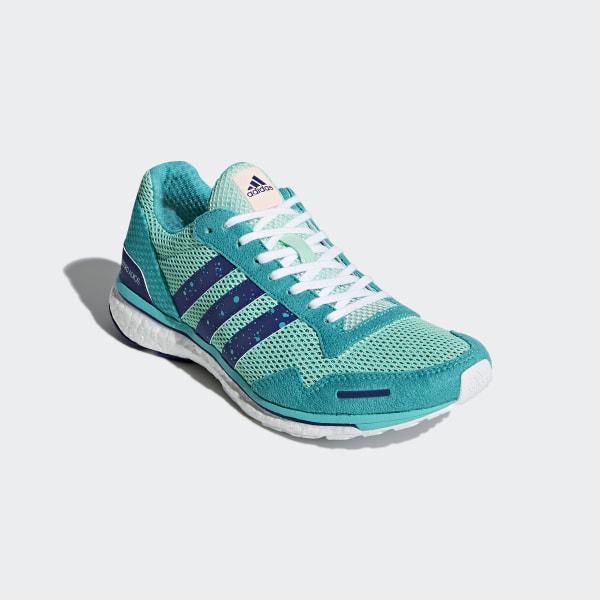 adidas Performance adizero Adios 3 Laufschuh blau,weiß,mint