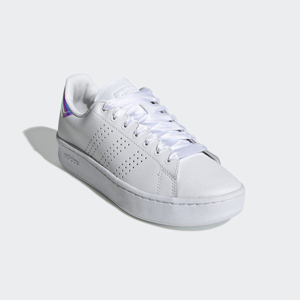 adidas Advantage Bold Shoes - White | adidas Belgium