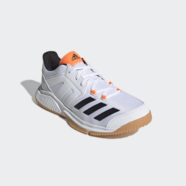adidas Essence Schuhe Herren core black footwear white solar orange