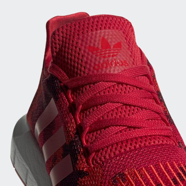 zapatillas adidas hombres running rojas