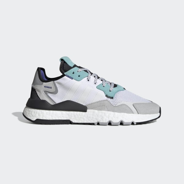 Nite Jogger Schoenen Cloud White / Cloud White / Easy Mint EE5882