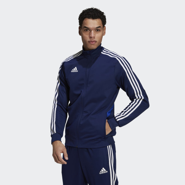 adidas Tiro 19 Training Jacket Blue | adidas US
