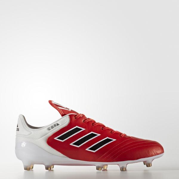 Zapatos de Fútbol Copa 17.1 Terreno Firme Rojo adidas   adidas Chile