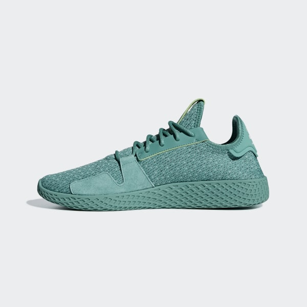 adidas Pharrell Williams Tennis Hu V2 Shoes Green | adidas New Zealand