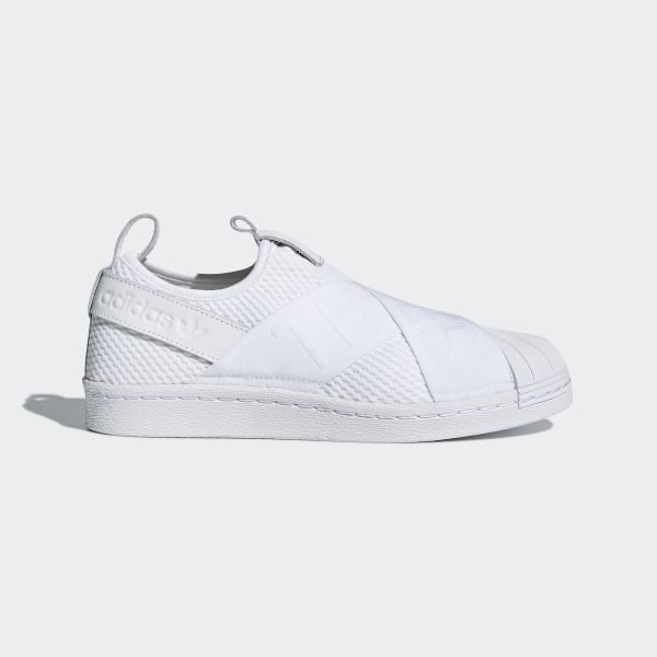 Zapatillas Superstar Slip on Blanco adidas | adidas Peru