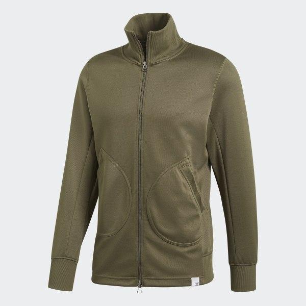 designer fashion the best attitude latest fashion adidas XBYO Track Jacket - Green   adidas UK