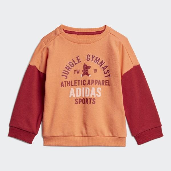 Ensemble bébés Graphic Terry Orange adidas | adidas France