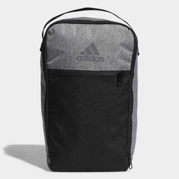 Golf Shoe Bag >> Adidas Golf Shoe Bag Grey Adidas Us