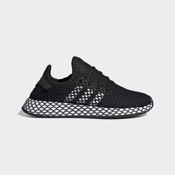 adidas schuhe mit netz schwarz