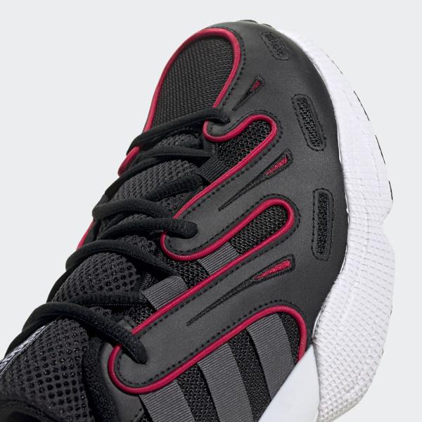 EQT Gazelle Shoes Core Black / Grey Six / Energy Pink EE4808