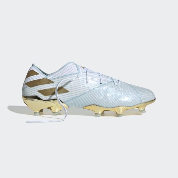 marchio famoso immagini ufficiali 100% di alta qualità adidas Nemeziz Messi 19.1 15 Year Firm Ground Boots - Blue ...