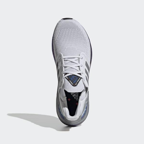Giày UltraBoost 20 Dash Grey / Grey Three / Boost Blue Violet Met. EG0755