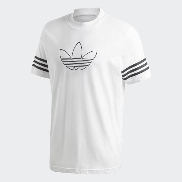 T shirt Outline Bianco adidas   adidas Italia