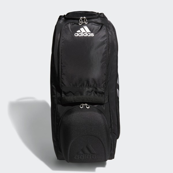 Adidas Utility Wheeled Bat Bag Black Us