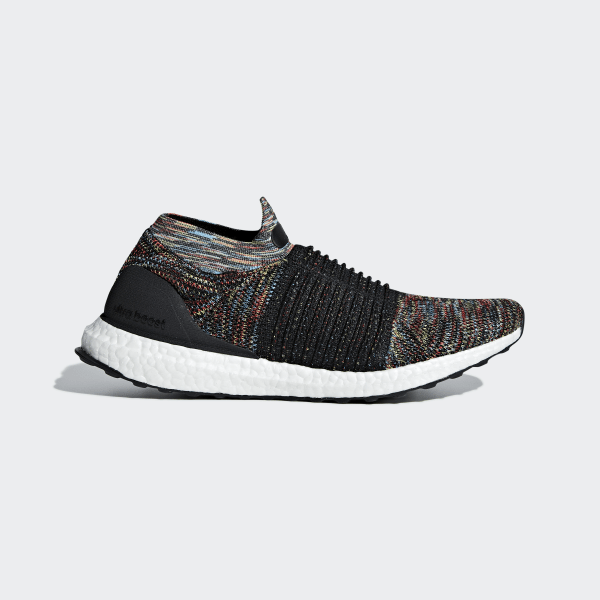 adidas UltraBOOST LACELESS Adidas ultra boost raceless CORE BLACKSHOCK YELLOWACTIVE RED b37687