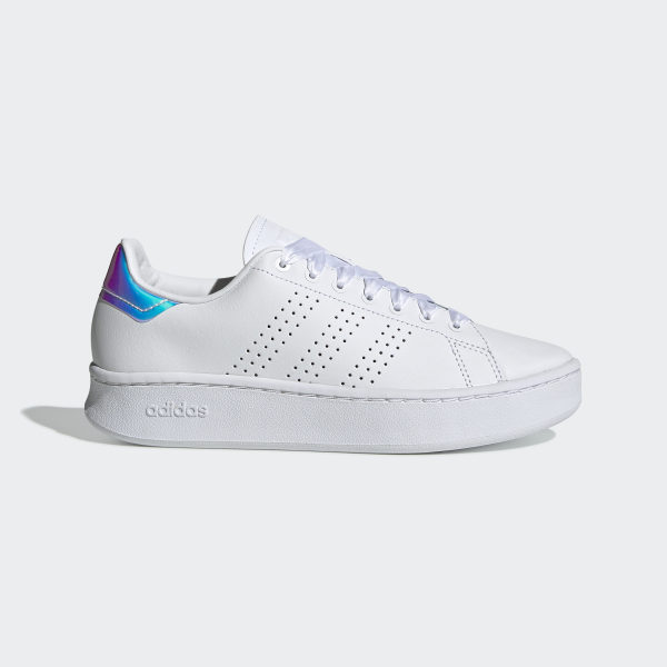 adidas Advantage Bold Shoes - White | adidas UK