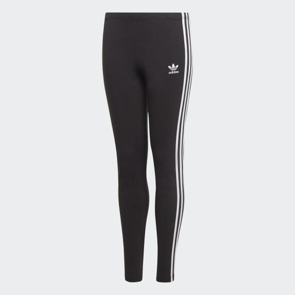 adidas originals trefoil leggings nero